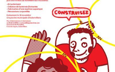 APPEL À PARTICIPATION POUR LES 12/25 ANS : SCÉNOGRAPHIE – CONSTRUCTION – PERCUSSION