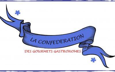 JEUDI 26 NOVEMBRE A 20H : ANNONCE OFFICIELLE DU PRÉSIDENT DE LA CONFÉDÉRATION DES GOURMETS GASTRONOMES