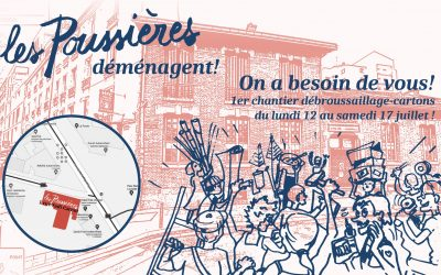 GRANDE NOUVELLE : ON DEMENAGE !!