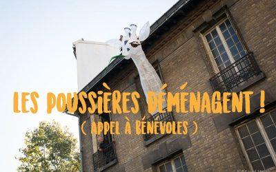 DU MERCREDI 10 AU DIMANCHE 14 NOVEMBRE : PHASE 1 DU GRAND DÉMÉNAGEMENT